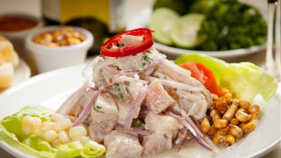 Ceviche de pescado