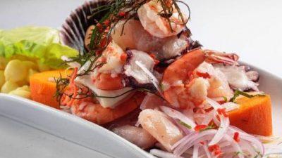Ceviche mixto (pescado y marisco)