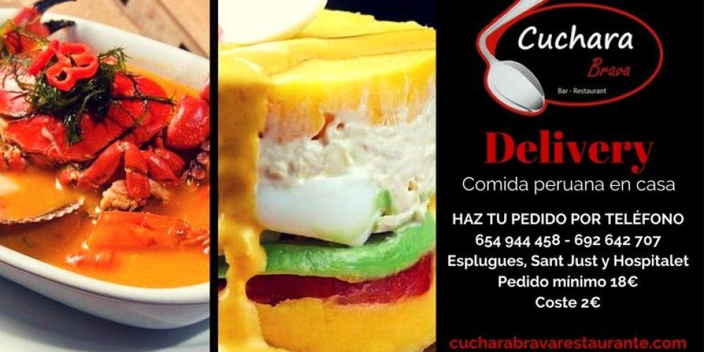 Comida peruana en casa. Nuevo servicio delivery