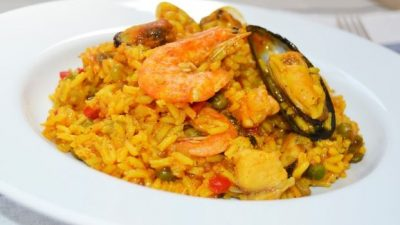 Arroz con mariscos